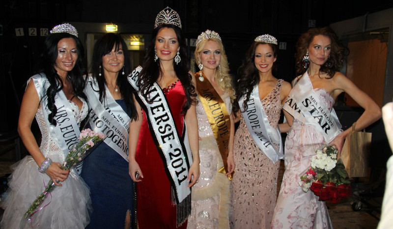 Mrs. Europe Minsk Belarus (2012)