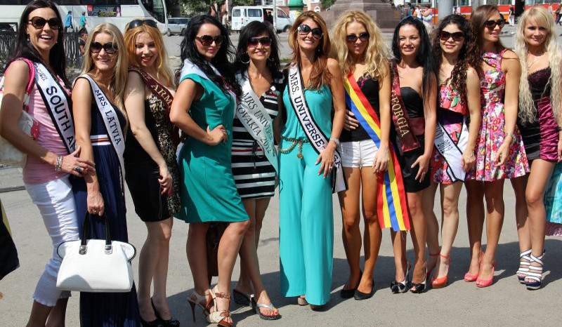 Mrs. Universe Rostov on Don, Russia (12.August 2012)